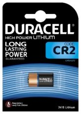 DURACELL DL/CR2  DURACELL SPECIALTY LITHIUM CR2 (x1)  EAN: 5000394020306